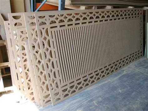 decorative furniture panels cnc routing decorative panels and shapes