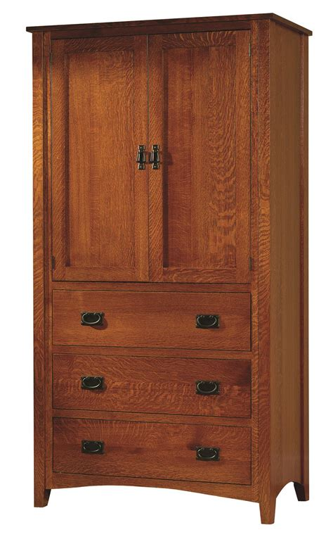 mission antique armoire  dutchcrafters amish furniture