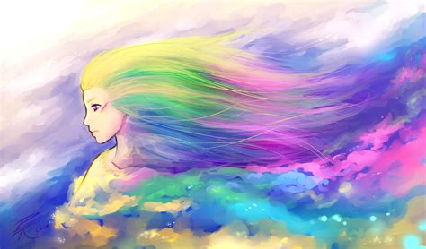 goddess of color by oviot