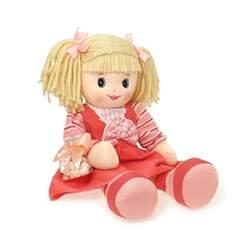 Thank You Gift Basket Rag Doll Toy