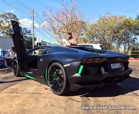 Lamborghini Australia Sydney Lamborghini Aventador Spotted In Sydney Australia On 09