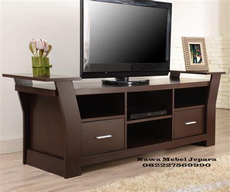 Bufet Tv Minimalis Kombinasi 03 bufet rak tv minimalis jati