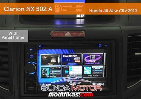 Vidiq 677 Headunit 2 Din baru pusat audio player entertainment honda crv 2012