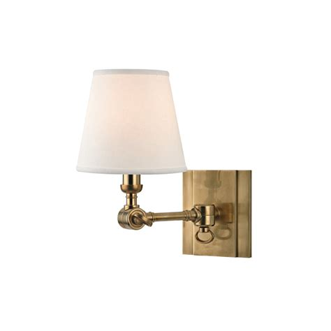 vintage swing arm wall l vintage shaded joint swing arm wall sconce shades of light
