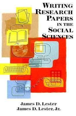 social science research papers writing research papers in the social sciences d