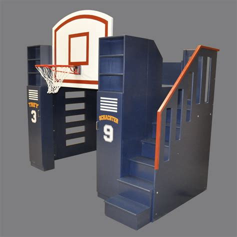 basketball bed basketball bunk bed designed by tanglewood design