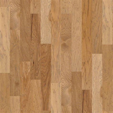 shaw estate hickory allspice 3 8 x 5 quot wire brushed click lock engineered hardwood flooring