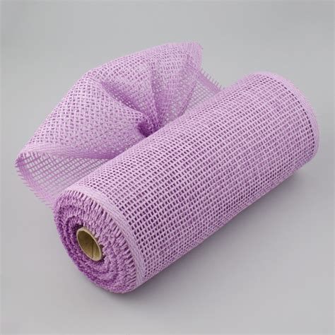 Paper Mesh Craft - 10 quot paper mesh roll lavender purple rr800147