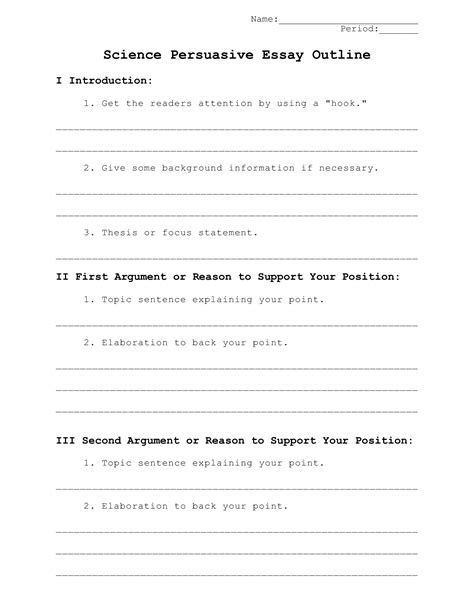 essay outline template for high school best photos of high school research paper outline template