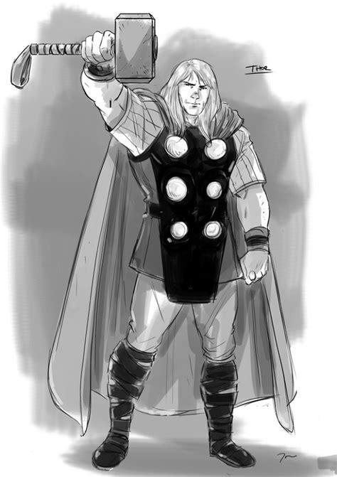 Thor (2011) - Artes conceituais mostram trajes