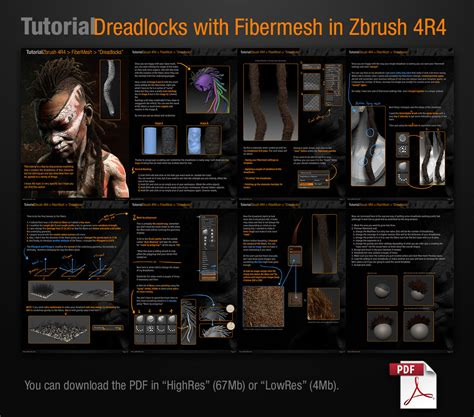 zbrush tutorial website creating dreadlocks with fibermesh tutorial pablander