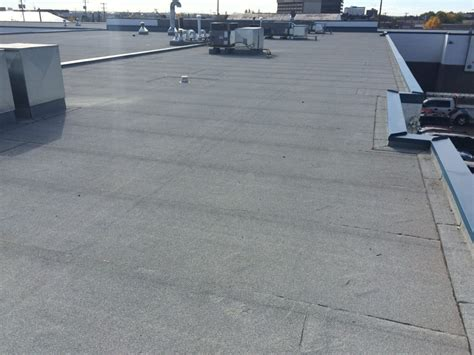 Tar Roof Repair Commercial Flat Roofing System Installation