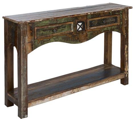 Reclaimed Wood Console Table Amuru Reclaimed Wood Console Table By Reason Season Time Notonthehighstreet