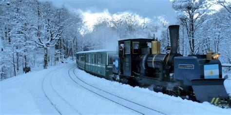 tren de invierno no es noruega es tierra del fuego incre 237 ble