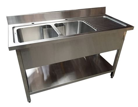 Stainless Steel Commercial Sinks by 1 4m Commercial Stainless Steel Rhd Bowl Sink 600