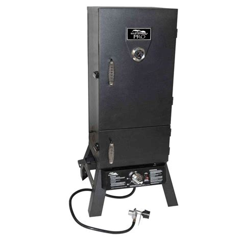 masterbuilt pro charcoal and propane dual fuel smoker