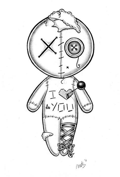 cute voodoo doll drawings voodoo doll by nataliarey on deviantart