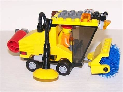 Lego Happy City City Cleaning Vehicle Lego Murah K19003 review 7242 sweeper lego town eurobricks forums