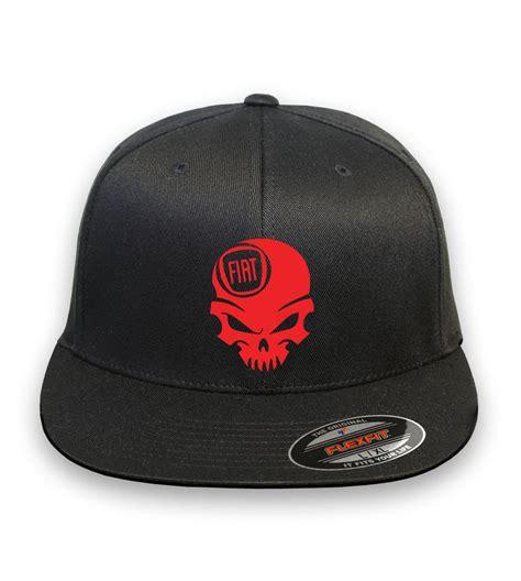 fiat 500 abarth logo flex fit style hat