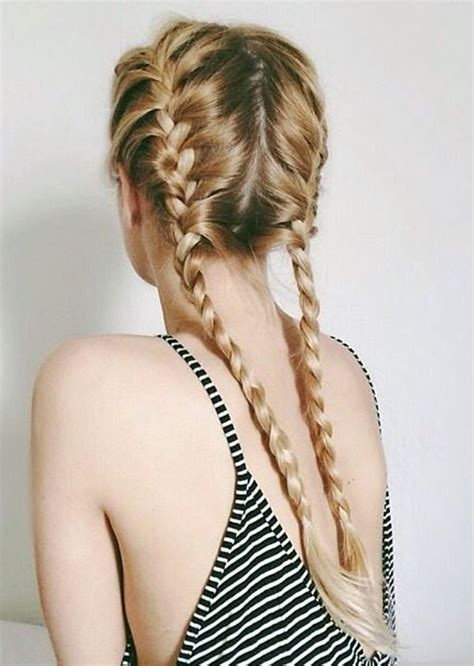 how to do two french braids wit weave 26 stunning french braids we love