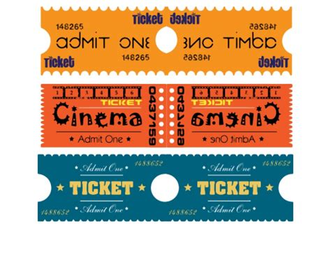 fun printable raffle tickets raffle tickets cinema kidspressmagazine com
