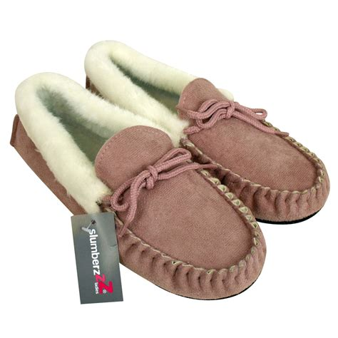 womens moccasins slippers womens moccasin faux suede leather slippers warm