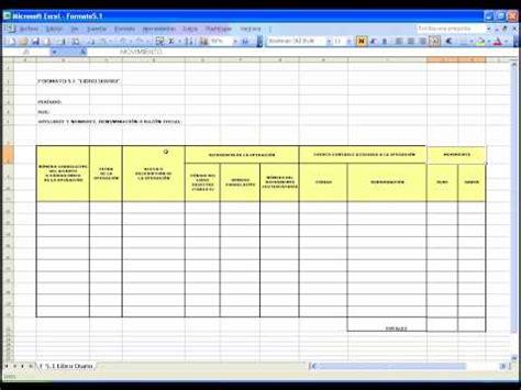 tutorial excel contabilidad tutorial del llenado libro diario formato 5 1 doovi