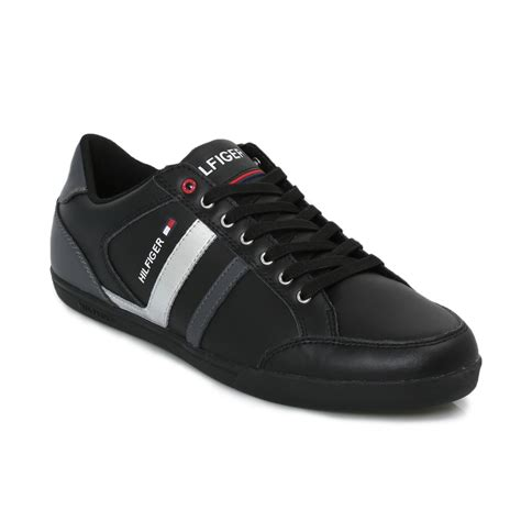 hilfiger sneakers hilfiger black rickey suede trainers sneakers shoes