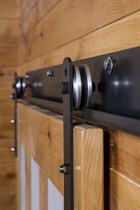 J Track Barn Door Hardware System Barn Door Hangers And Tracks