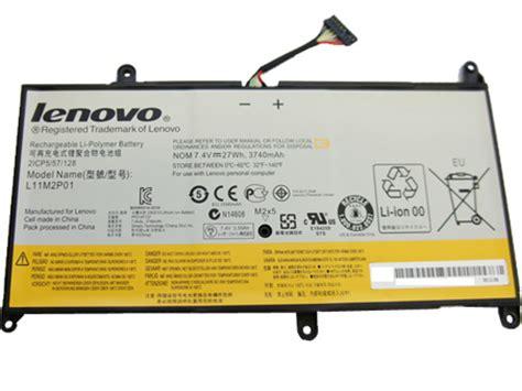 Lenovo Ideapad S200 S206 L11m2p01 4 Cell 2 lenovo batterie batterie pour ordinateur portable lenovo