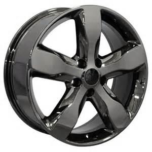 jeep grand oem wheel black chrome 20x8