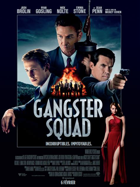 film action la mafia gangster squad film 2012 allocin 233