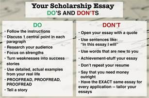 Steps To Writing A College Essay by How To Write A Winning Scholarship Essay In 10 Steps
