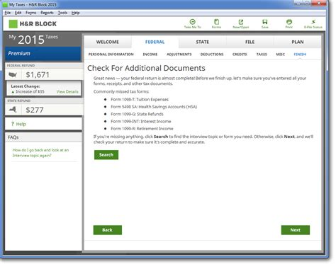 Amazon.com: H&R Block 2015 Deluxe Tax Software + Refund ... H And R Block 2015 Tax Software Deals