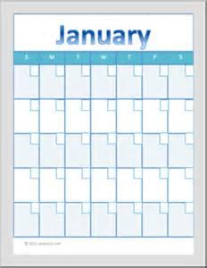 Fill In Calendar Template by Monthly Calendar 2015 Calendar Fill In Calendar