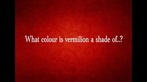 what color is vermilion what color is vermillion vermillion and turquoise up in