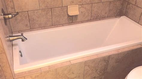 install bathtub how to install a european drop in tub youtube