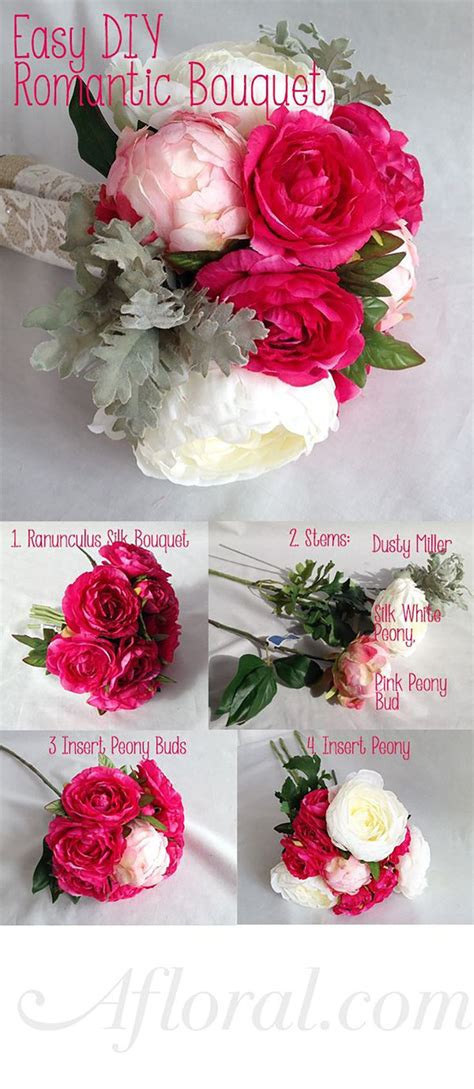simple diy bridal bouquets from afloral com start with