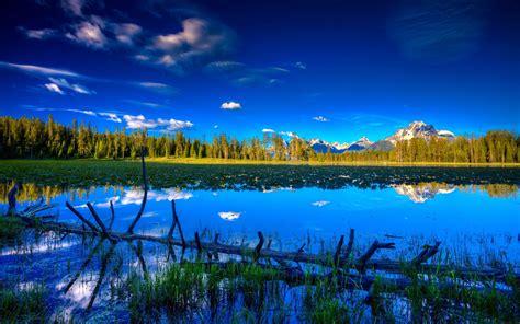 wallpaper blue landscape blue landscape wallpaper 2560x1600 wallpapers13 com