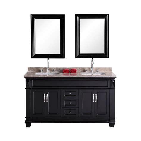 home depot design element vanity design element hudson san marino 61 in w x 22 in d