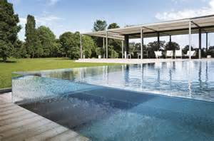 Glass can be an attractive design for your pool swimming pool gives