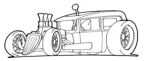 coloring pages rat rods hot rod coloring pages desenhos pinterest cars
