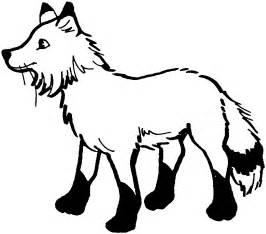 fox coloring book free fox coloring pages