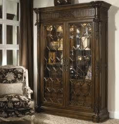 Glass Door China Cabinet Antique Style Lighted Interior China Display Cabinet With Glass Doors And Shelves By