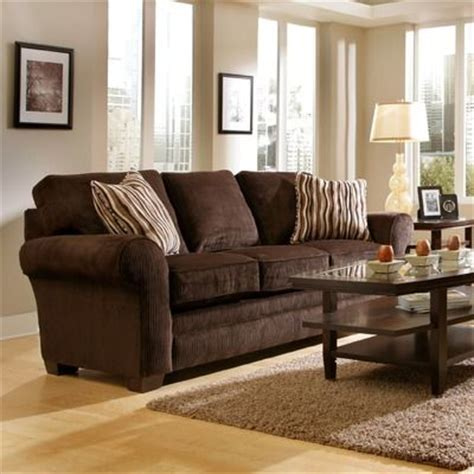 Chocolate Brown Couches Living Room by Brown Sofa Hopefully In The Future We Will Two
