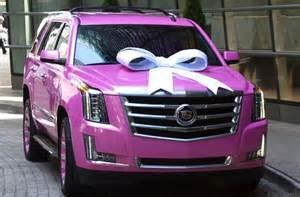 Pink Cadillac Truck This 2015 Cadillac Escalade Takes The Whole Pink Cadillac