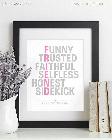 inspirational meaningful wedding gifts for best friend