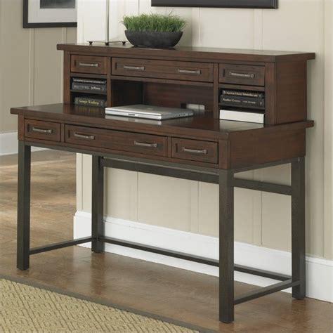 cabin creek corner l desk home styles cabin creek executive desk and hutch in