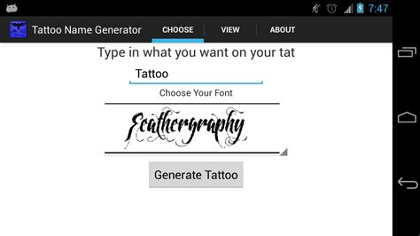 tattoo shop names generator tattoo name generator amazon ca appstore for android