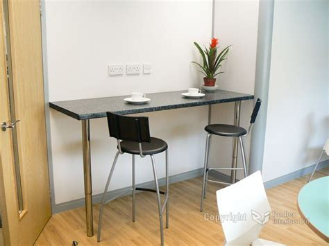Wall Bar Table Wall Mounted Breakfast Counter Wall Mounted Bar Table The Office Kitchen Area Also Has A